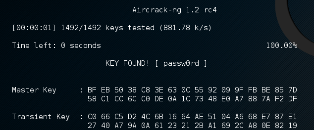 aircrack-success