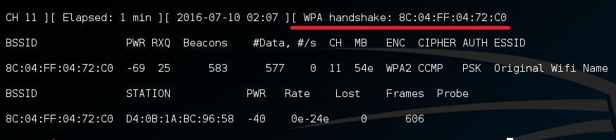 airodump-handshake